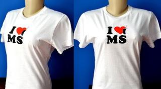 Camiseta Baby Look - M, G, GG