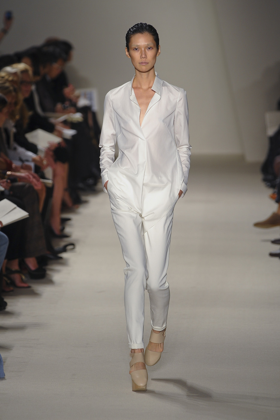 via fashioned by love | Akris Spring/Summer 2011 White