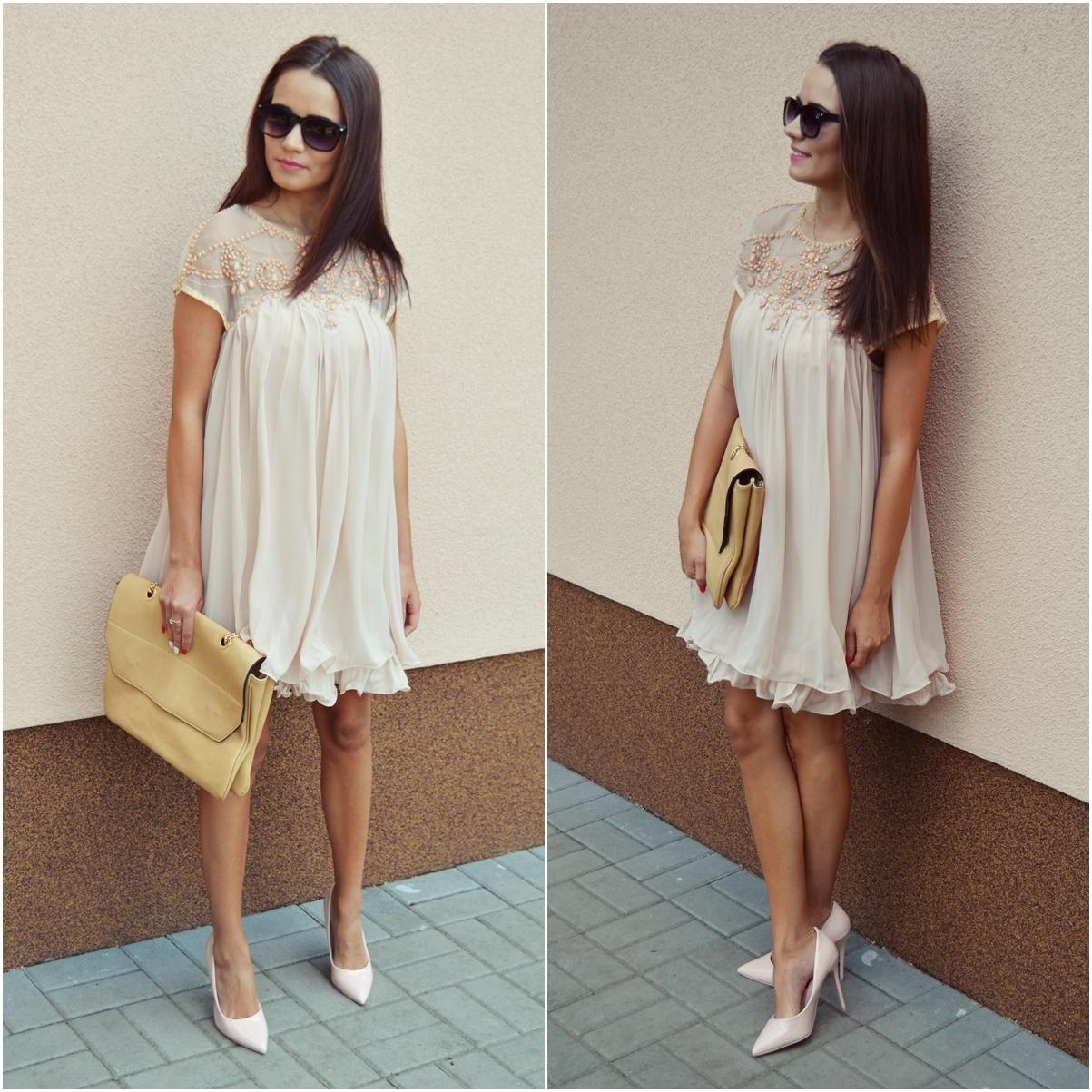 Camila Style Beżowa Sukienka Inspiracja Na Wesele