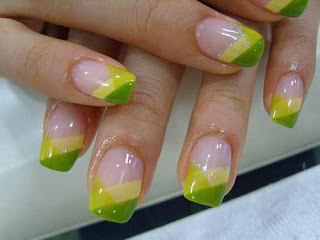 Easy Colorful Nail Art Designs