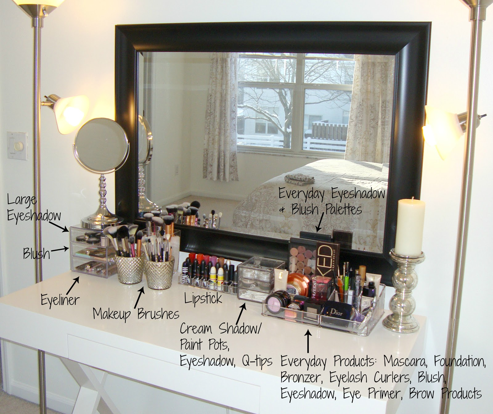 Image from Makeup organizer ideas