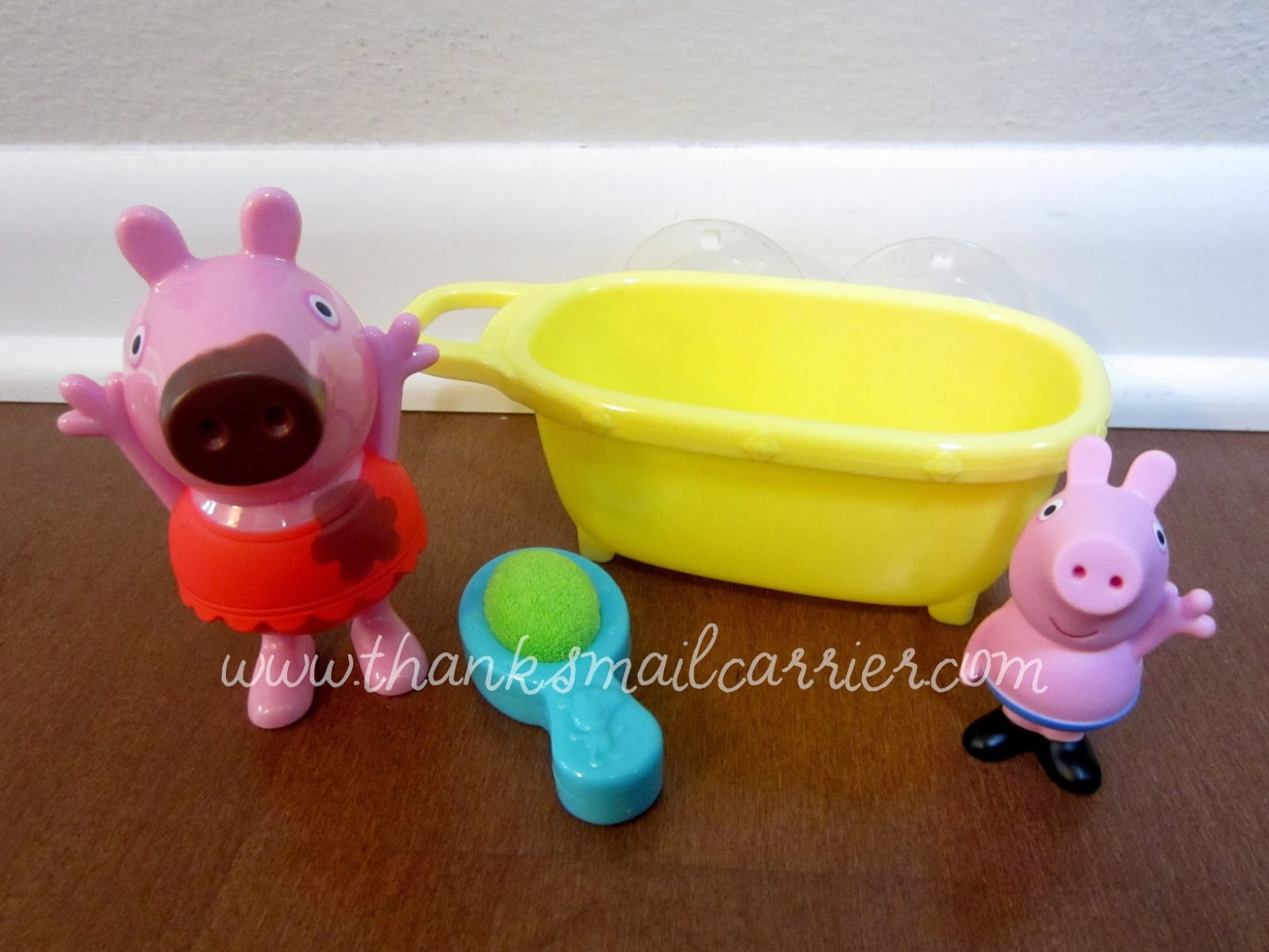 bathtime peppa pig