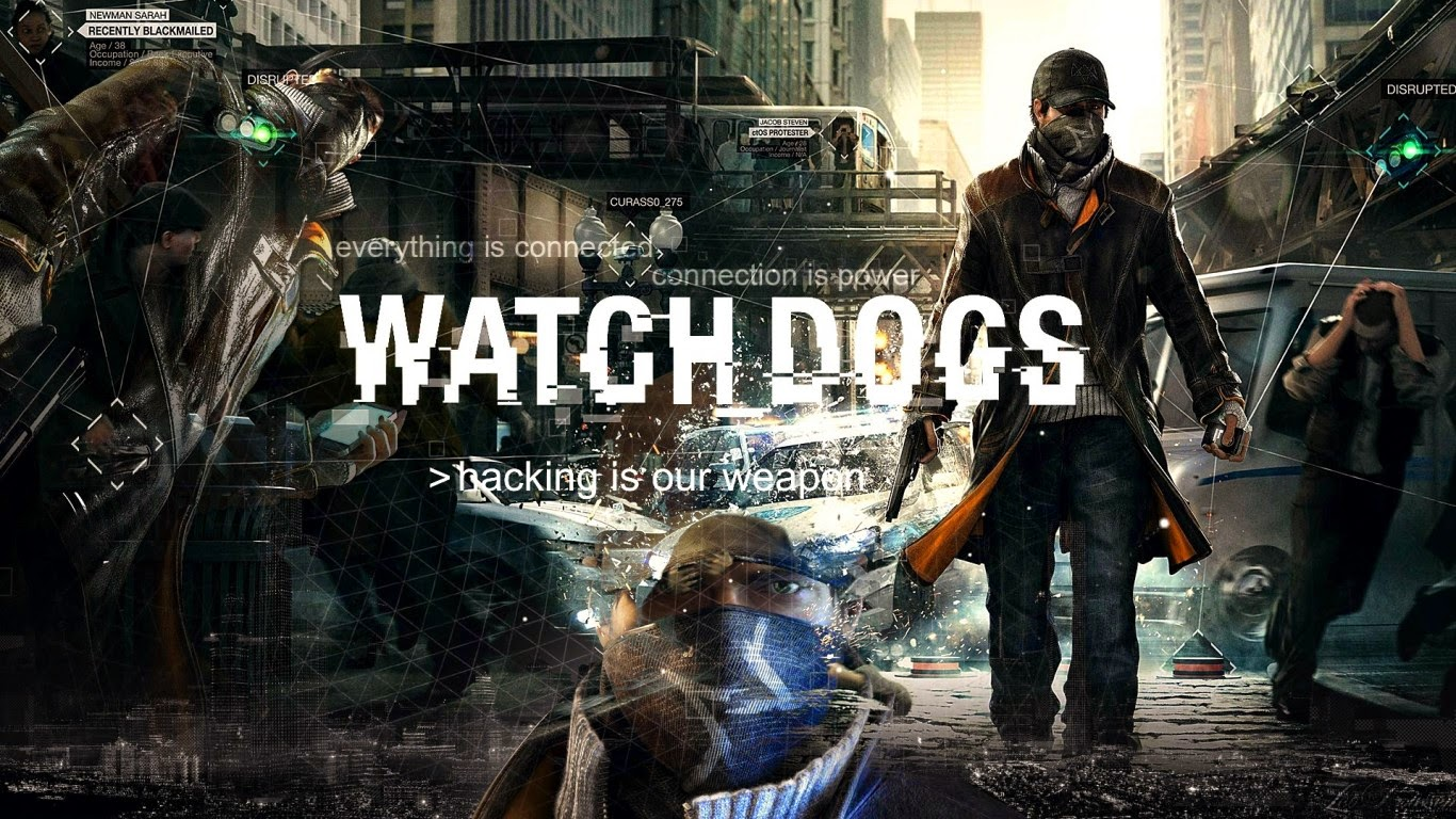 Watch_Dogs Full Game - Downloader + Crack Main Screen