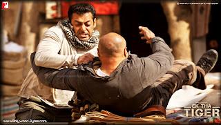Salman Khan Fighting High Defination Wallpaper from Ek Tha Tiger