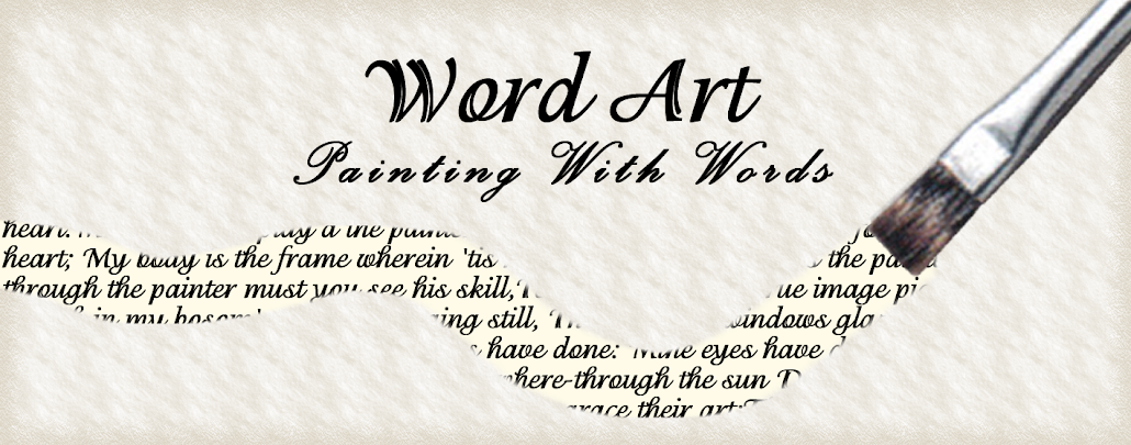 Word Art: Painting with Words