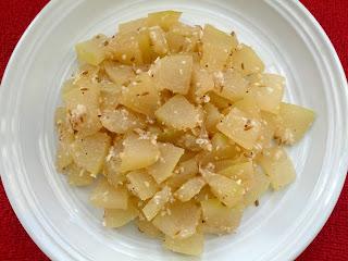 Ash Gourd Poriyal