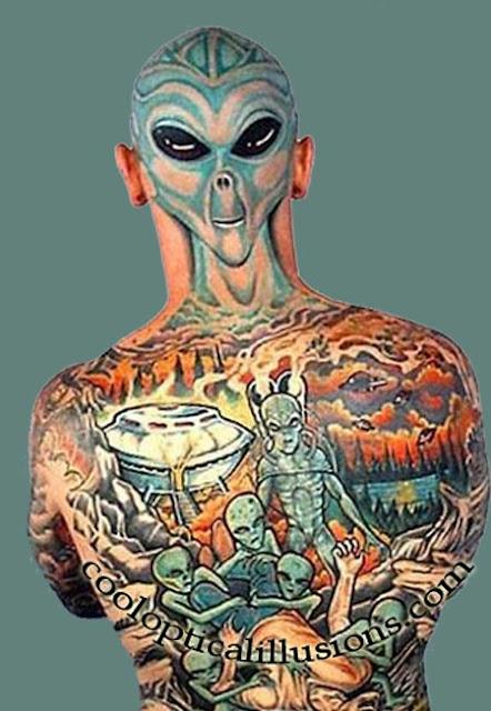 Cool tattoo design art