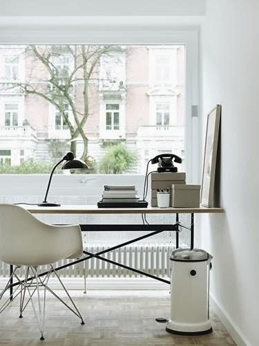 Glassveranda: inspirasjon til hjemmekontoret!