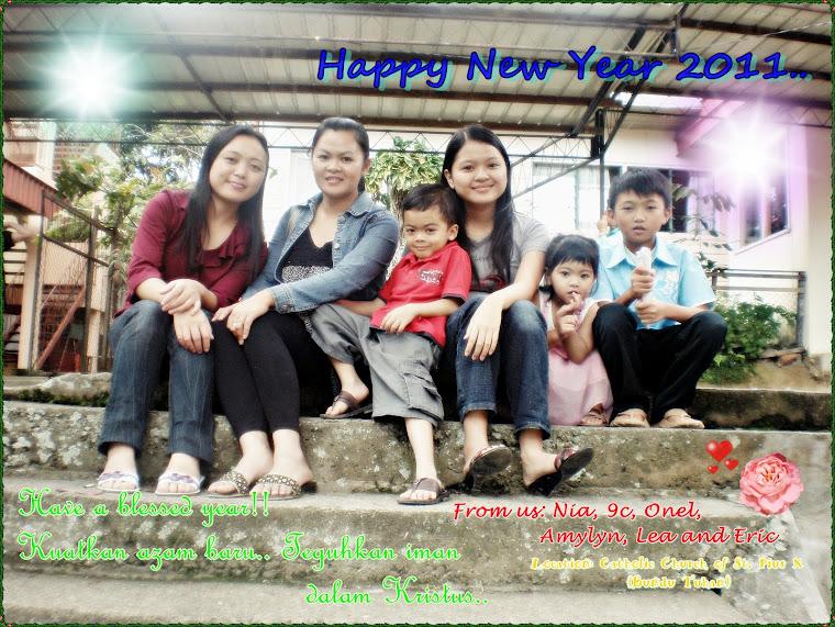 with ma czn, bro, niece & nephew.. (boolat oh muka sa...hahaha...walaupapun..praise da Lord juga..)