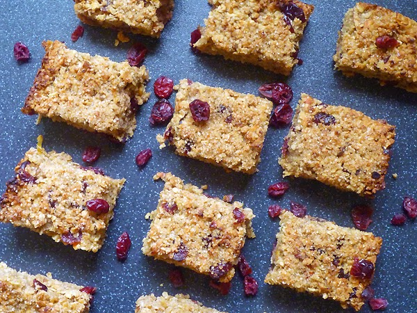 Apple and Cranberry Flapjacks Recipe