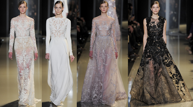 Elie Saab - Paris Haute Couture Spring Summer 2013