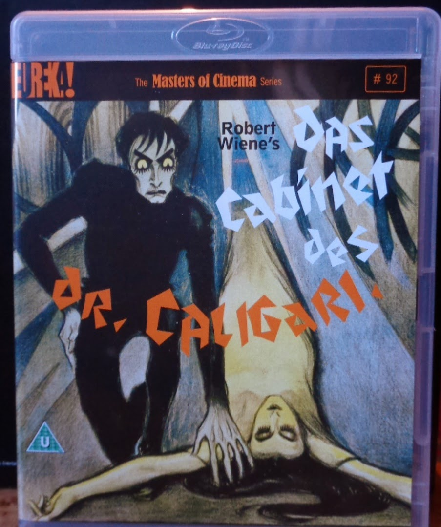 Movies on DVD and Blu-ray: The Cabinet of Dr. Caligari (1920) on