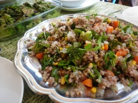 Cocina macrobi tica ensalada multicolor de trigo sarraceno for Cocina macrobiotica