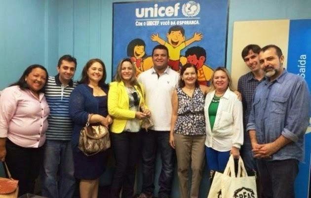 GUAMARÉ EM BUSCA DO SELO UNICEF