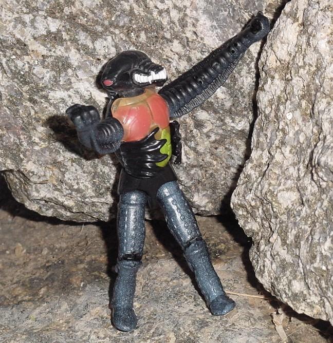 1994 Mexican Exclusive Carcass, Star Brigade, Lunartix Alien
