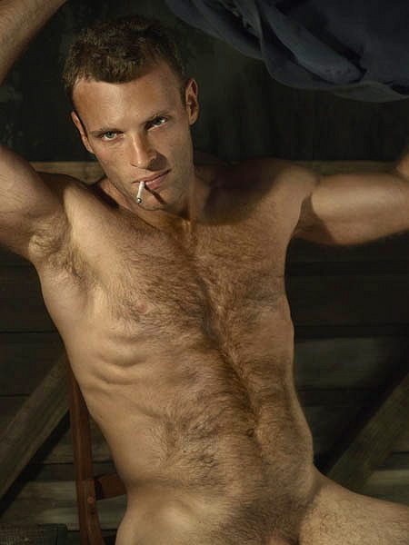 men naked handsome hairy