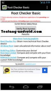 Cara Menggunakan Aplikasi Root Checker Basic