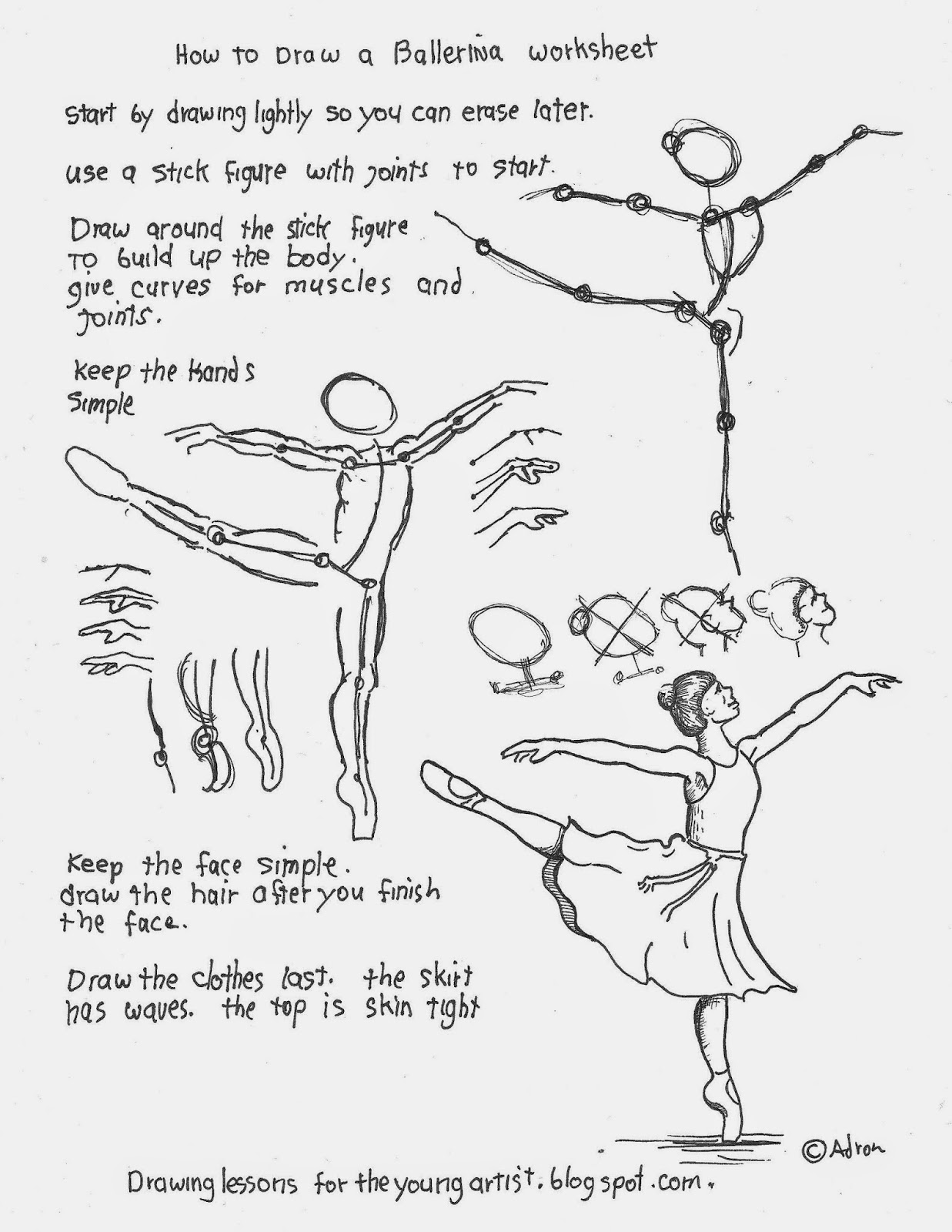 Drawing Lines In Cm Worksheet : How to draw worksheets for the young artist a