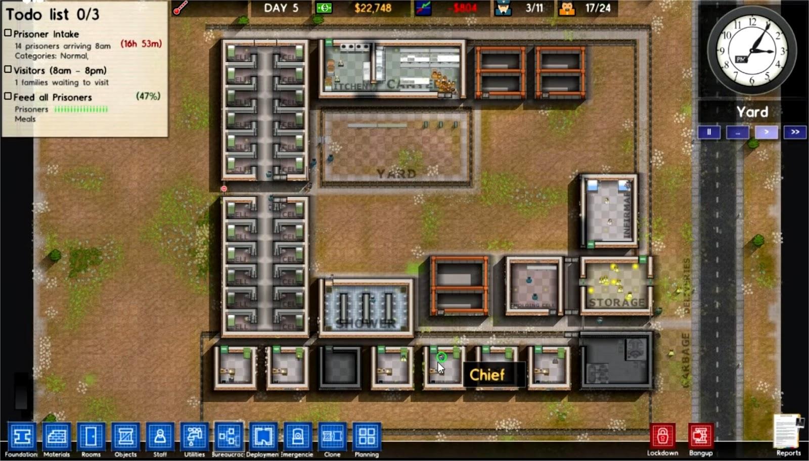 Prison Architect Prison