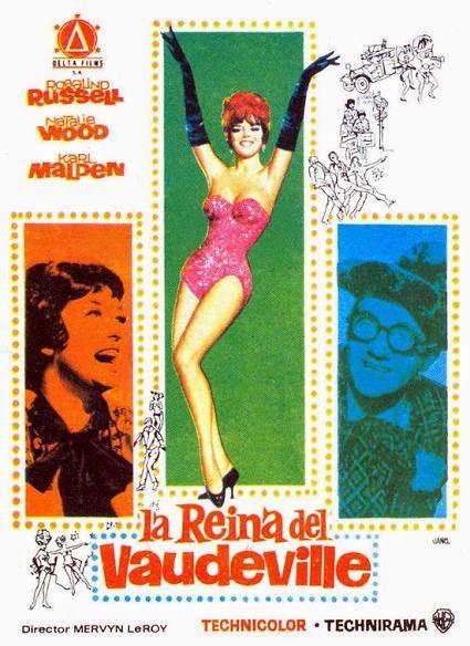 LA REINA DEL VAUDEVILLE (1962)