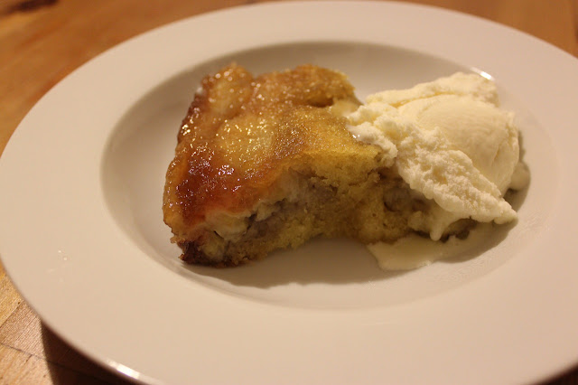 two tasty sins: Banana maple upside-down cake by Bill Granger