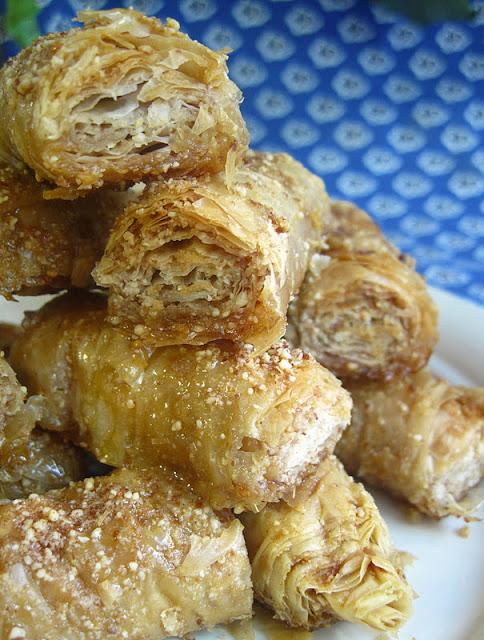 Healthy Almond Baklava recipe