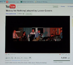 Our cover version of Money for Nothing ...