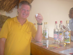 Me Sampling Rum -- Grenada Distilleries, outside St. George