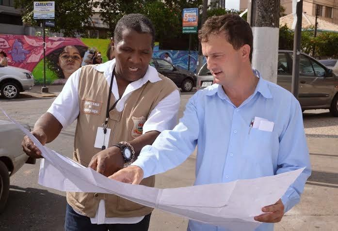 Guarda Municipal traça mudanças no fluxo viário para bom andamento da obra