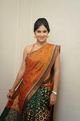 Madhumitha sizzling pics in saree-thumbnail-3