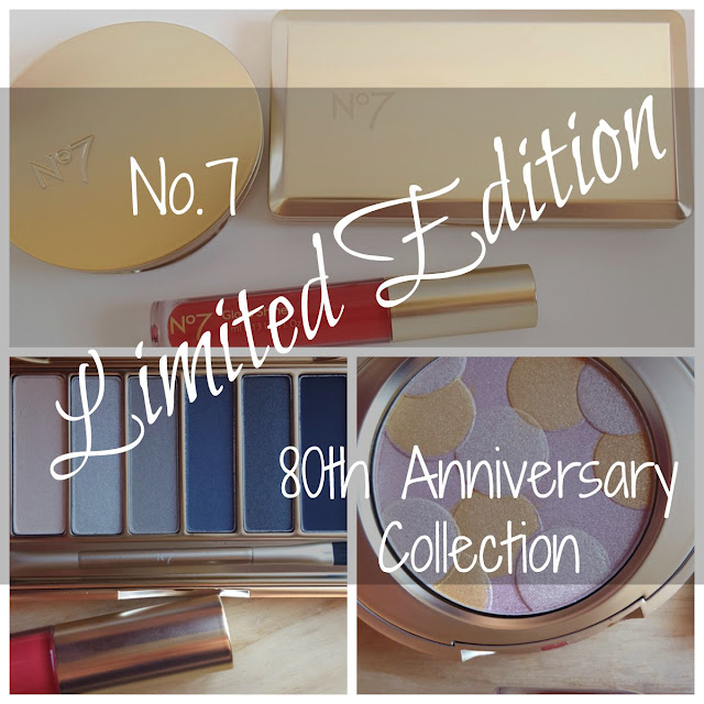 No.7 80th Anniversary Limited Edition Cosmetics Collection
