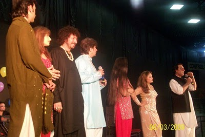 Dubai Pashto Musical Show Photos with Dancers Sidra Noor, Kiran