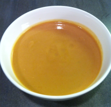 tomato avocado buttermilk soup early in the day i made a cold tomato ...