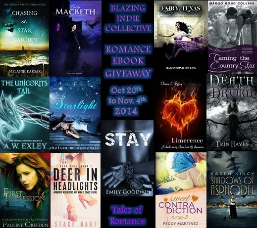 Blazing Indie Romance Giveaway