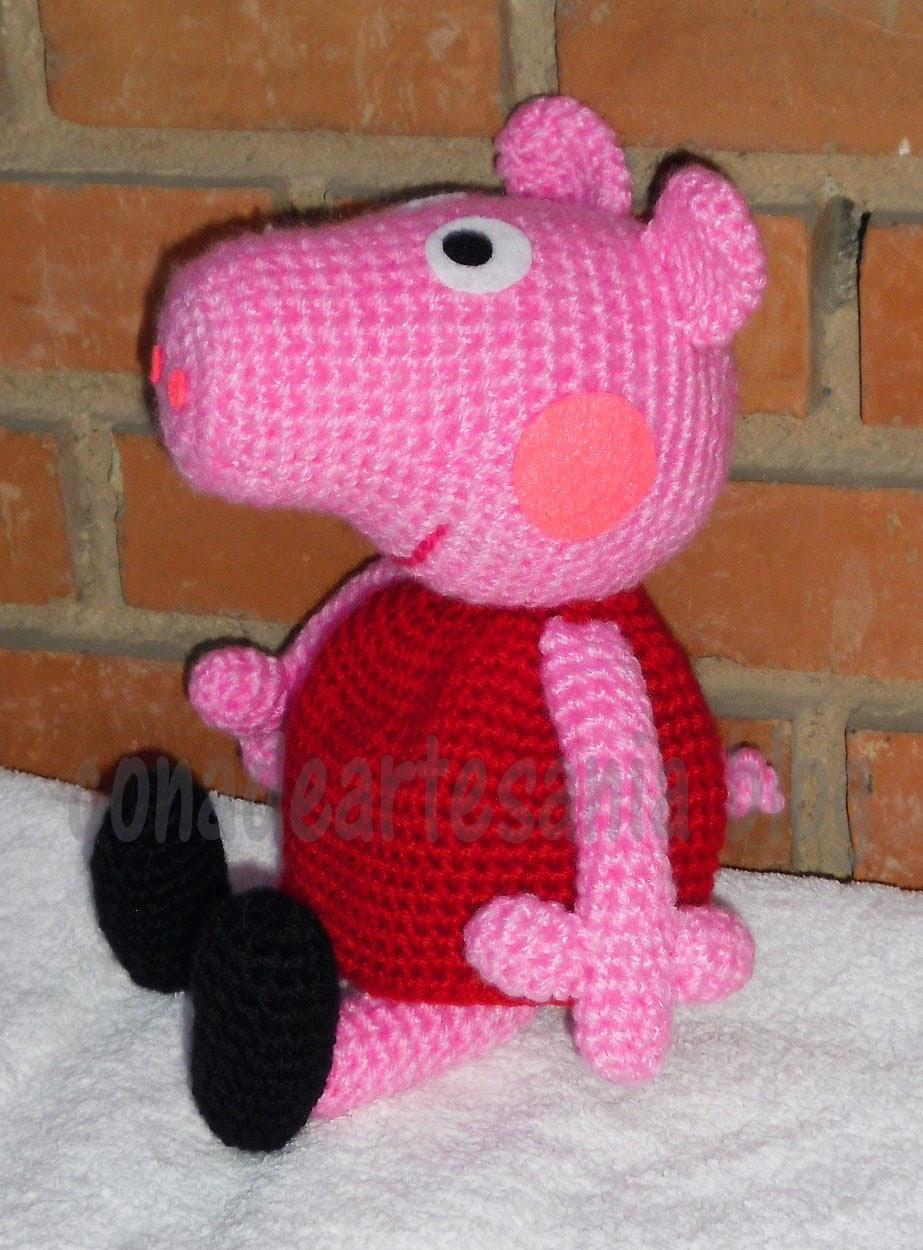 Patron Amigurumi Peppa Pig Grande : con A de artesan?a: Peppa Pig amigurumi