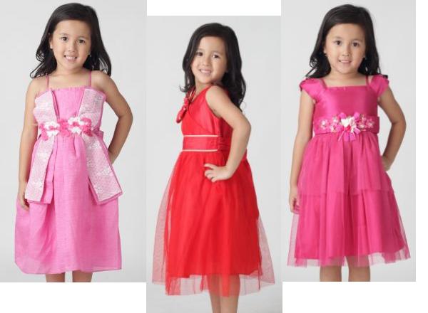 Model baju pesta anak anak perempuan terbaru