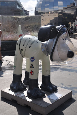 Astro Dog Gromit (side view)