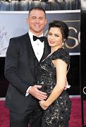 Channing Tatum with wife Jenna DewanTatum