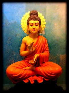 Buddha Statue at Parmarth Niketan Ashram