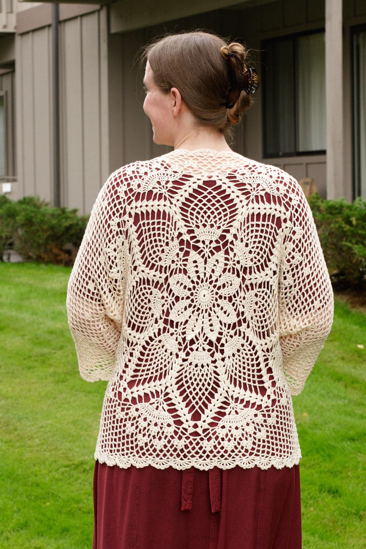 We do it the hard way pineapple crochet shawl sweater pineapple crochet shawl sweater dt1010fo
