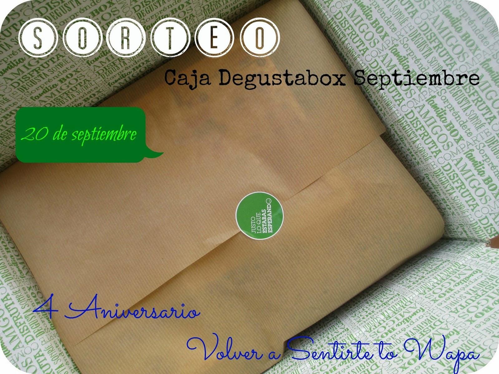 SORTEO EXPRESS - DEGUSTABOX SEPTIEMBRE