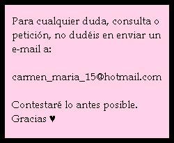 Contacto ♥