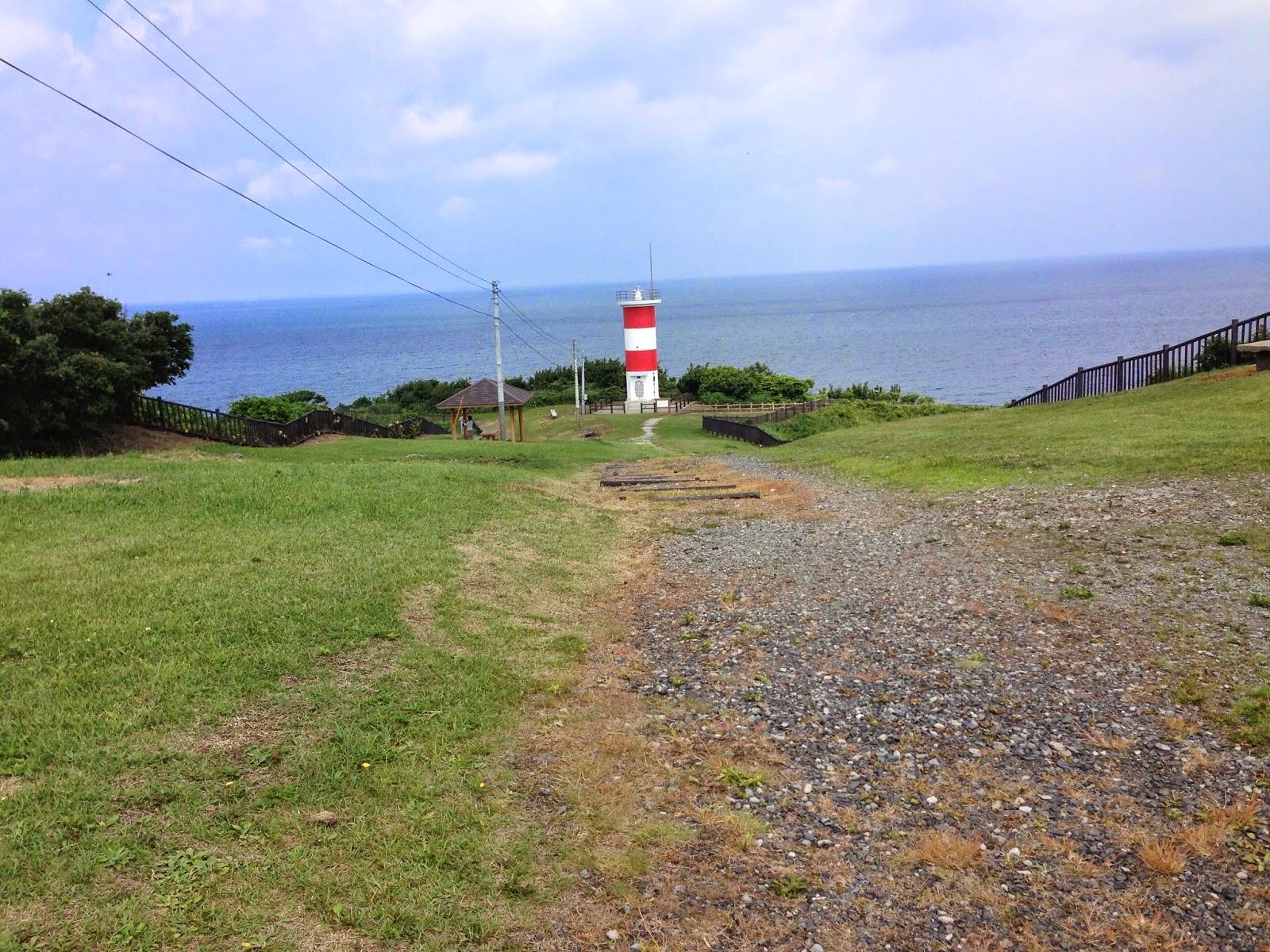 aomori coast, light house aomori, cycling in aomori