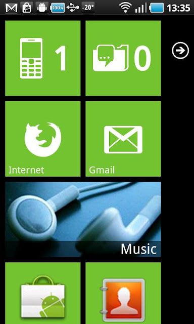 WP7 Theme for Android Phones