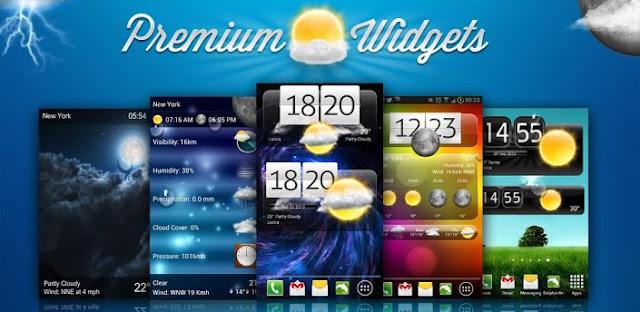 Premium Widgets & Weather v1.3.5