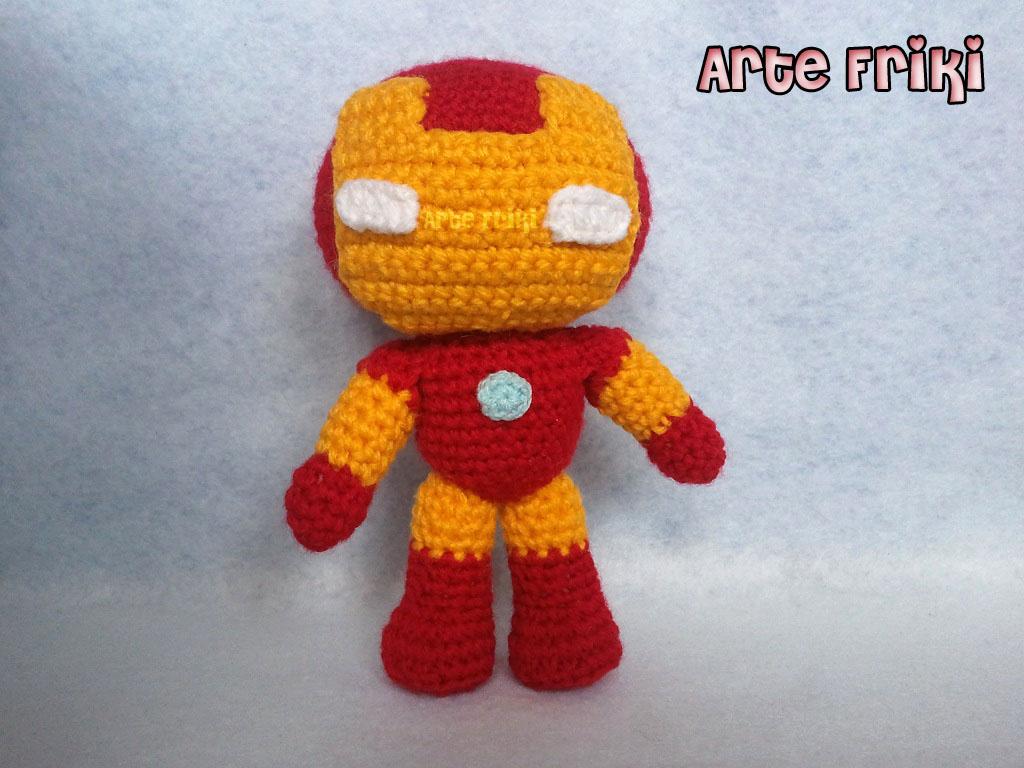 Iron Man amigurumi - Arte Friki