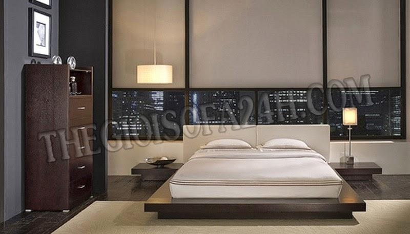 Giường ngủ GN046