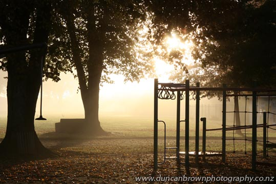 Cornwall Park in Hastings photograph