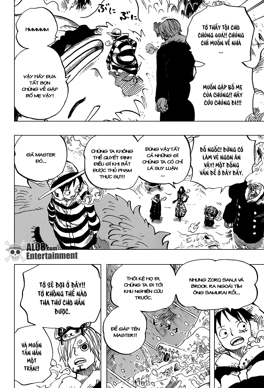 One Piece Chapter 665: Kẹo 014