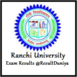 Ranchi University BCom BSc BA Part 1 Exam Result 2015
